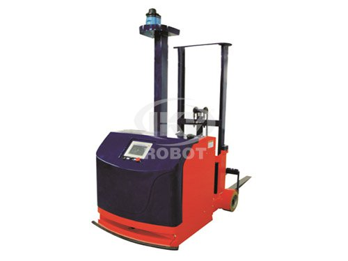 Counterbalanced fork lift type AGV
